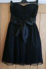 New Marks & Spencer's Strapless Black Dress - Size 6 Prom/Party/Wedding/Xmas