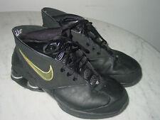 2005 Mens Nike Flight Shox MTX Black/Metallic Silver Basketball Shoes! Size 8