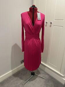 Issa Magenta Dress BRAND NEW Size 10