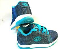 Heelys Split Glitter Pewter / blue Schuh mit Rollen Heelies Sneakers Gr. 36,5