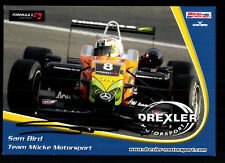 Sam Bird Autogrammkarte Original Signiert Motorsport+ G 19972