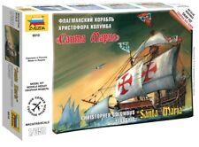 "Zvezda 1/350 Christopher Columbus Nave Spaziale ammiraglia "" SANTA MARIA "" #6510"