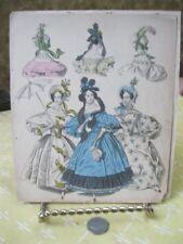 Vintage Print,MORNING+EVENING DRESS,1833,Fashion