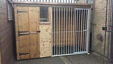 Designer Pent 9 x 4 Dog Kennel & Run *Galvanised*