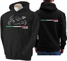 Felpa per moto DUCATI 749 hoodie sweatshirt bike hoody Hooded sweater