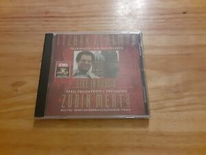 Itzhak Perlman Live In Russia Cd BRAND NEW AND SEALED