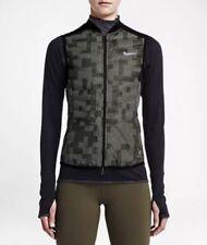 Nike Wmns AeroLoft 800 Flash Vest Gilet 689260-325 Black Reflective Size XL New