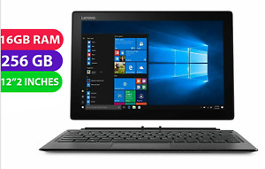 "2-in-1 Lenovo Miix 520-12IKB Core i7, 12.2"" FHD Laptop, 16GB RAM, 256GB HDD, W10"