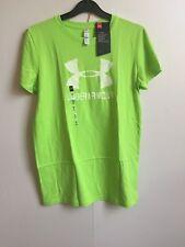Under Armour Women's UA Sportstyle Crew Short Sleeve T-Shirt - S (10) - Green