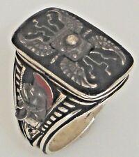 Praetorian Guard Shield ring Sterling Silver Lge