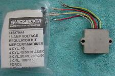 Quicksilver OEM Voltage Regulator Kit 16 AMP  815279A4