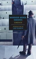 Monsieur Monde Vanishes (New York Review Books Classics) by Simenon, Georges