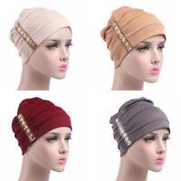 Women Lady Cotton Hat Cancer Chemo Beanie Baggy Cap Turban Hijab Wrap
