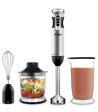 Betitay Immersion Blender 4 in 1 Multifunctional Hand 300 Watts Food Processor