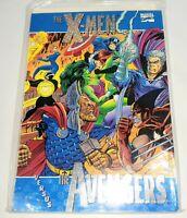 X-MEN VERSUS AVENGERS - TPB - Softcover - Marvel Comics - Never Read