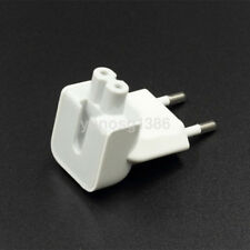 EU 2 Pin AC Power Travel Wall Plug Duckhead Adapter Charger for Apple Macbook UK