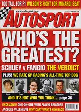 Autosport 8 de agosto de 2002-Finlandia Rally, Spa 24 horas, DTM, Alemania, Scheckter.