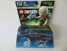 Lego Dimensions Fun Pack 71218 - Lord of The Rings Gollum, Shelob - SEALED