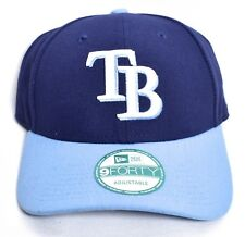 meet 6a9ab 661f9 TAMPA BAY RAYS New Era 2 Tone Adjustable Hat Cap 9Forty One Size MLB