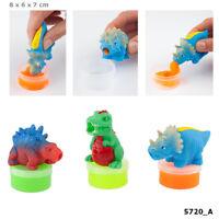 Dino World Schleim Knete Dinosaurier mit Schleim Slimy Putty Von Depesche
