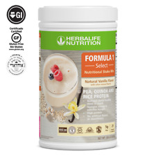 HERBALIFE FORMULA 1 SELECT NUTRITIONAL SHAKE MIX NATURAL VANILLA FLAVOR 810g