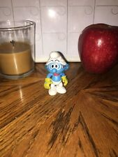 The Smurfs Adventure Smurf Posable action figure With Gloves, Scarf And Goggles