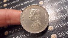THAILANDIA  THAILAND SIAM BAHT 1876-1900 ARGENTO SILVER