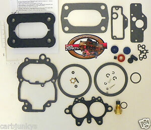 2280 Holley 2B Carburetor Rebuild Kit Chyrsler Dodge Plymouth 1962 - 87 15702