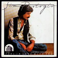 "JIM PHOTOGLO - SPAIN 7"" 20TH 1981 - FOOL IN LOVE WITH YOU / RULED BY MY HEART"