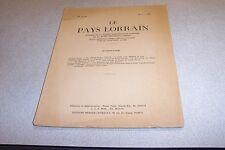LE PAYS LORRAIN 1962 VOL 43 N° 4 Une replique de la «Navicella» de Giotto, a la