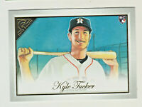 2019 Topps Gallery #121 KYLE TUCKER RC Rookie Houston Astros QTY AVAILABLE