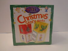Candle Bible for Toddlers Christmas Story Blocks Stackable Nip Learning Playtime
