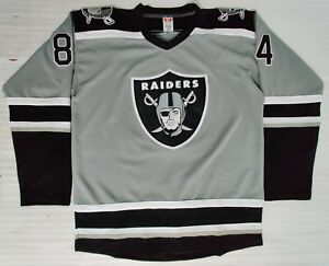 NFL NHL Replica Raiders Hockey Jersey. Customizable. Any Size, Name, and Number.