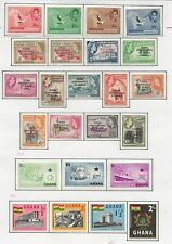 GHANA  FINE MINT & USED COLLECTION  1957/70 ALMOST COMPLETE INCL.M/S SHEETS