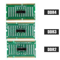 DDR2 DDR3 DDR4 SO-DIMM RAM Analyzer Diagnostic Tester Test Card Board For Laptop