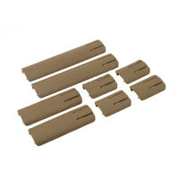 8Pcs Airsoft RIS Picatinny / Weaver Rail Cover TD SCAR Panel for 20mm Rail
