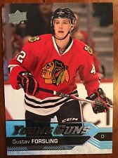 2016-17 UD Hockey Series 1 Young Guns Rookie Gustav Forsling #240