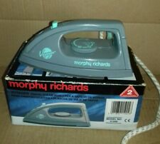 RETRO MORPHY RICHARDS VOYAGER TRAVEL IRON ORIGINAL BOX    (ST7-8)