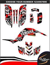 YAMAHA RAPTOR 660 660R FULL GRAPHICS DECALS STICKERS KIT ATV