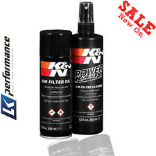 K&N AIR FILTER 99-5000EU CLEANER RECHARGER KIT HIGH QUALITY