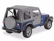 Bestop Supertop Jeep Wrangler TJ 1997-2002. Complete Top &Door Kit Charcoal Grey