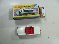 873| Matchbox Nr. 27 Mercedes 230 SL in OVP