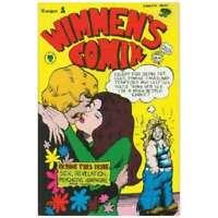 Wimmens Comix #1 in Fine condition. Last Gasp comics [*0r]