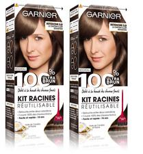 Garnier - 100% Ultra Brun - Kit Racines Réutilisable Châtain - Retouche Châtain