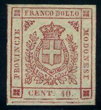 Italy Modena 1859 40 cents MNG Sas 17 CV $90 200123006