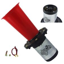 7141RED AHOOGA ANTIQUE VINTAGE STYLE 12 VOLT OLD FASHION CAR HORN HOT ROD KLAXON