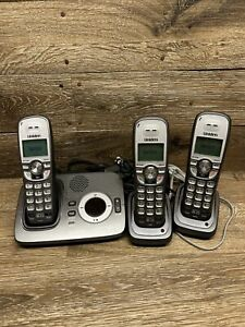 Uniden D1760-3 DECT 6.0 Cordless Phone With 2 Extra Handsets
