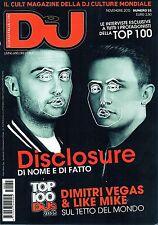 DJ Mag 2015 55#Disclosure,Dimitri Vegas & Like Mike,Hardwell,Martin Garrix,jjj