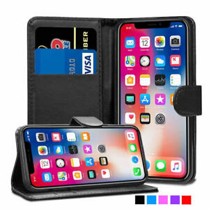 Case For iPhone 12 Pro Max 11 X XR XS 8 7 6 5 Luxury Leather Flip Wallet Cover