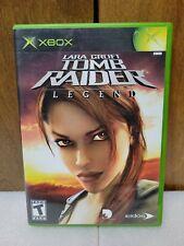 Lara Croft: Tomb Raider Legend (Microsoft Xbox) Complete~Tested~Free Shipping!
